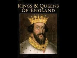 history of the kings and queens of england