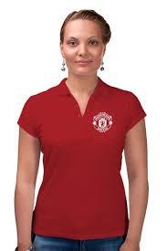 """Рубашка Поло """"<b>Манчестер Юнайтед</b>"""" #2567323 от geekbox - <b>Printio</b>"""