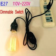 lamp dimmer socket socket dimmer switch pendant lamp holder base socket with extension cable kaeder lamp