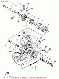 Yamaha tw200 trailway 1997 v usa rear wheel schematic partsfiche yamaha tw200 trailway 1997