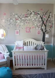 wall ideas for baby girl nursery