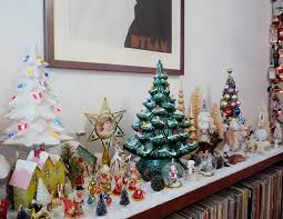 Christmas Tree Village Display Stands Merry Christmas at the Pug Palace 100 Desperately Seeking 86