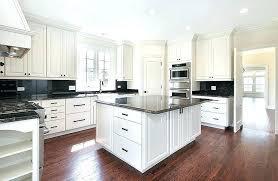 dark granite countertops with white cabinets black granite kitchen kitchen with white cabinets and black granite