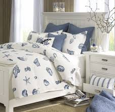 breezy beach bedroom inspirations with white sea shell duvet covers nautical bedroom curtains themed bedding master coastal furniture