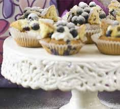 Blueberry Butterfly Cakes Recipe Bbc Good Food
