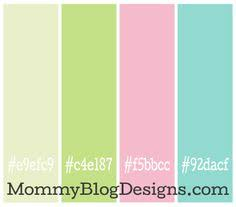 Color Combo #9 from MommyBlogDesigns.com