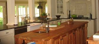 it is warm and inviting not cold like granite countertops or quartz countertops these countertops are manufactured from the finest hard rock maple