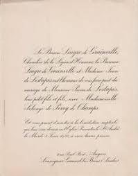 1930 wedding announcement cards pierre de lestapis & solange perry fields  bordeaux | eBay