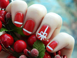 Christmas nails designs - how you can do it at home. Pictures ...
