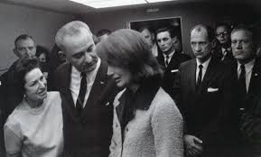 lbjs office president.  lbjs shortly after the murder of president kennedy lady bird and lbj comfort  mrs kennedy to lbjs office i