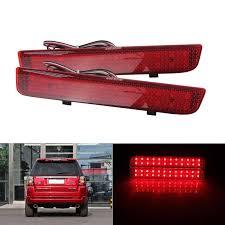 L322 Brake Light Switch Angrong 2x Rear Bumper Reflector Led Red Tail Brake Light