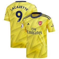Alexandre Lacazette Arsenal Adidas Youth 2019 20 Away