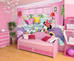 XL Minnie and Daisy girls room wall mural wallpaper