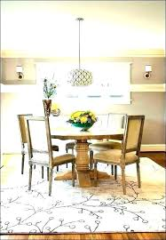 what size rug for dining table round rug under dining table jute rug dining room round what size rug for dining table