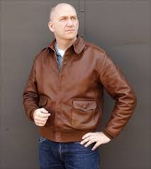 rough wear 42 1401 p a 2 flight jacket by good wear leather