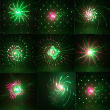 Laser Star Light Red Green Thrisdar 20 Patterns Moving Christmas Laser Projector Lamp