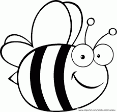 Small Printable Bee Coloring Pages Coloring Home