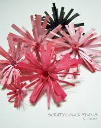 Paper Crafted Flowers Paper Flower Tutorials Scrappy Canuck Studios