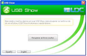 Libera tus archivos ocultos por el virus recycle.bin con USB SHOW