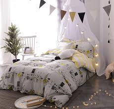 cute character animal single double bedding set teen child cotton twin full queen bedclothes bed sheet pillow case quilt cover comforter sets bedspreads