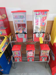 Candy Vending Machine Toy Stunning West Auctions Auction Arcade Games And Furniture From Hotel ITEM