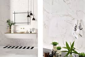 want to add a touch of marble to your small kitchen try our calacatta bevelled metro tiles these small ceramic wall tiles measure 200x100mm and have a