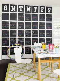 Office Chalkboard How To Make A Giant Chalkboard Calendar Home Decorating