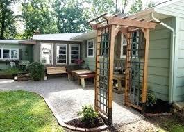 arbor garden. Build A Garden Arbor With Patina Plans .