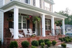 Brick Front Stoop Designs Front Porch Designs For Brick Homes Home Insight Great