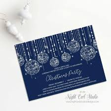 Corporate Holiday Party Invite Christmas Party Invitation Holiday Party Invitation