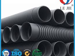 large diameter plastic hdpe perforated corrugated drainage