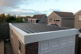 garage roof repair. brown plastisol roof replacement white flashings garage repair a