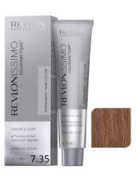 <b>Крем</b>-гель <b>REVLONISSIMO</b> для окрашивания <b>волос</b> 7.35 блондин ...