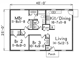 ... Image Result For 900 Sq Ft House S 3 Bedroom Home Pinterest Bright 1000  Traditional Style House Plan ...