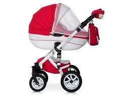 Купить <b>коляску Riko Bruno</b> Ecco 20, красно-белая по цене от 0 ...