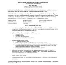 amici youth scholarship application monmouth county scholarship