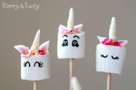 How To Make Easy Unicorn Marshmallow Pops Harry Lexys Workshop