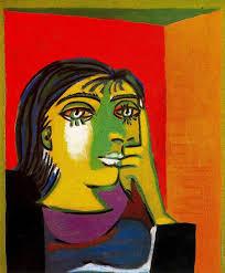 pablo picasso portrait of dora maar 1937 oil on canvas 55