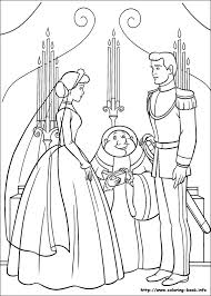 Small Picture Cinderella Coloring Pages Games Cinderella With The Prince