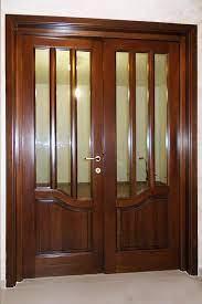 usi interior din lemn mobilă la