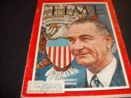 Time Magazine, President Johnson, November 29, 1963 | eBay
