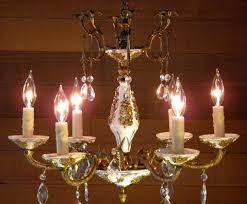antique porcelain chandelier chandelier antique porcelain brass by lightsfantastic on
