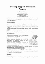 Resume Format For Desktop Support Engineer Desktopupport Engineer Resumeamples Fresherample Doc Cv Example Make