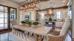 open floor plan homes. Light Comfy Bench Wood Table Open Floor Plan Homes