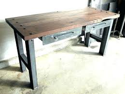 furniture office desks. Industrial Desks Furniture Vintage Bespoke Style Office Desk And Metal Fan Vin
