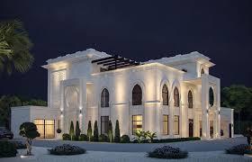 Traditional Islamic House Design White Modern Islamic Villa Exterior Design Jeddah Saudi