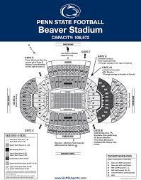 Beaver Stadium Club Level Seating Chart Penn State Nittany Lions Michigan Football Family Association