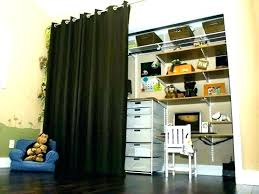 bedroom closet door curtains bamboo doors as ideas bathrooms designs replace close