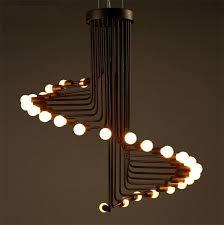 retro pendant lighting. Fashion Loft Retro Pendant Light Simple Creative Living Room Cafe Bar Spiral Stair Lamp Unique Lighting Decorative From A