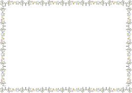 夏の花の飾り枠18 ユリ 花の無料イラスト素材 イラストポップ